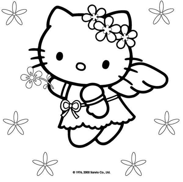 Coloriage hello kitty - Hello kitty coloriage youtube ...
